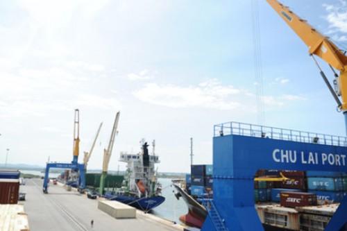 Hoàn thành việc mở rộng cảng Chu Lai
